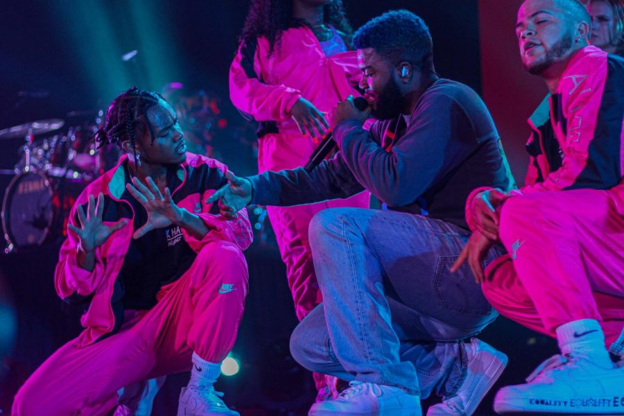 Khalid+performs+at+A+Night+for+Suncity+presented+by+The+Great+Khalid+Foundation+and+Right+Hand+Foundation+at+UTEP+Don+Haskins+Sunday+Sept.+1%2C+2019.