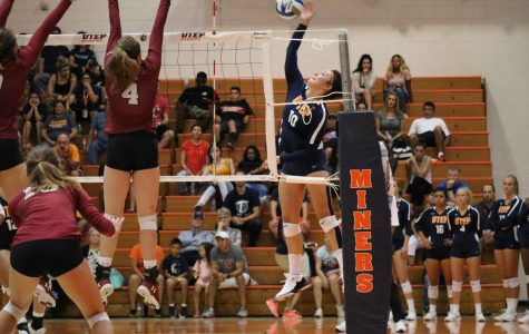 Miners volleyball take two out of three matches in I-10 Challenge