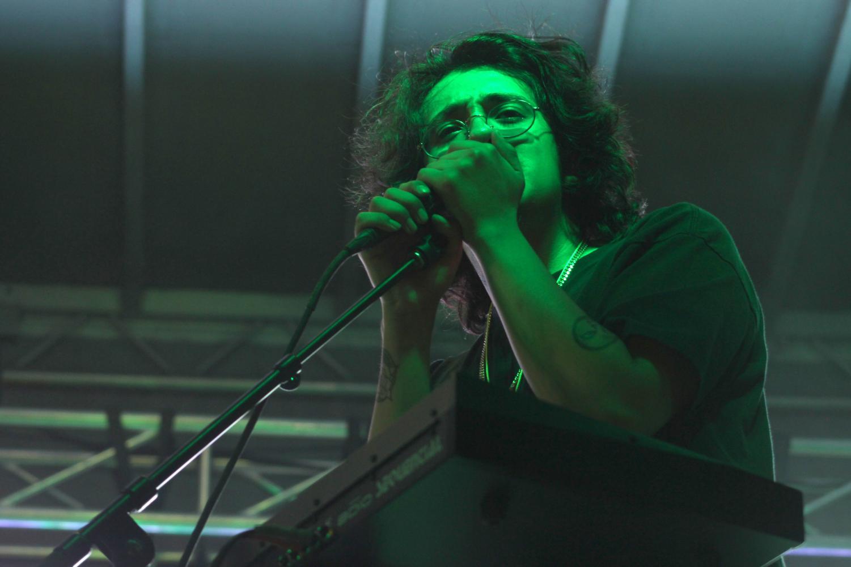 "Cuco sings at ""El Paso Firme"" music festival Saturday Sept. 7, 2019."