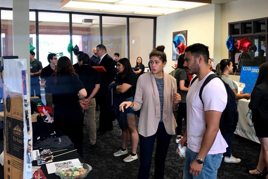 The College of Business Administration host the Student Organization Fair Wednesday, Sept. 11, 2019.