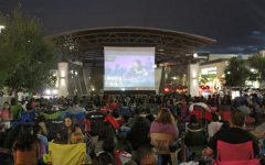 'Movie Nite on the Lawn' draws big crowd