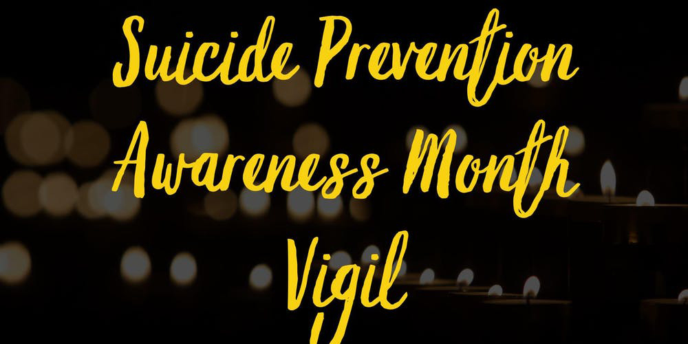 NAMI El Paso presents Suicide Prevention Awareness Month Vigil Friday, Sept. 27, 2019 at San Jacinto Plaza, El Paso, TX.   Photo courtesy of Evenbrite