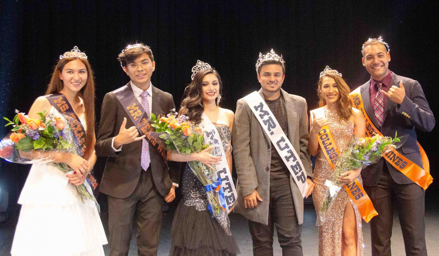 The winners of the 2019 SGA Pageant show.