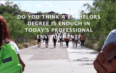 Do you think a bachelor's degree is enough in today's professional environment?