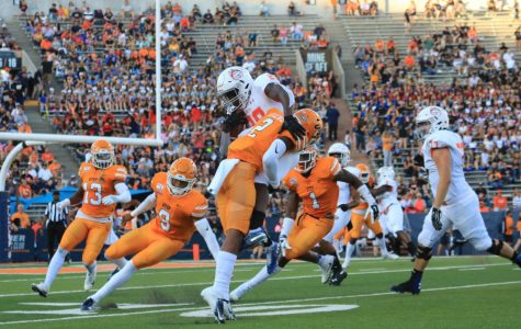 UTEP Football wins season opener against Houston Baptist in electrifying Sun Bowl Stadium