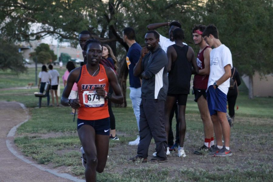 Senior, Winny Koech finishes 3rd place at El Chamizal on Sept. 13, 2019.