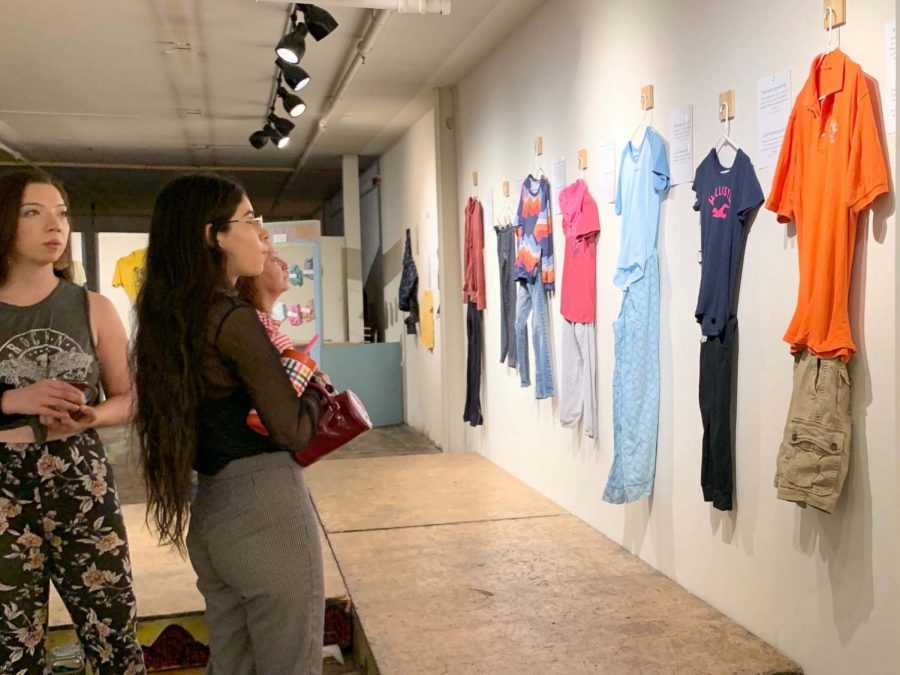 """""""What Were You Wearing?"""" held its opening night Saturday, Oct. 19, at Glasbox."""