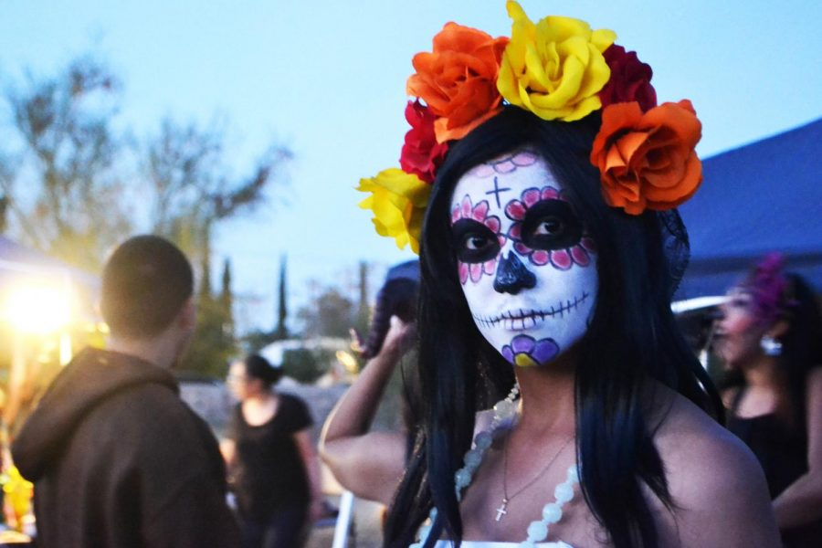 Día de los Muertos is a Mexican celebration that is also celebrated in the border.