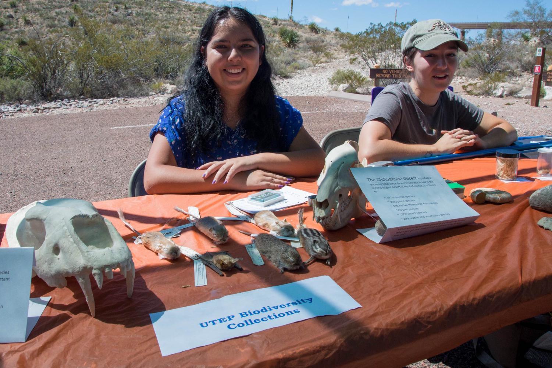 Alejandra Ramirez, senior UTEP student in the Ecology Department.