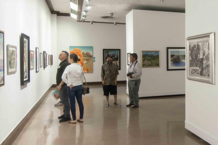 Arts International Juried Art Exhibit. Saturday, Oct. 5, 2019.