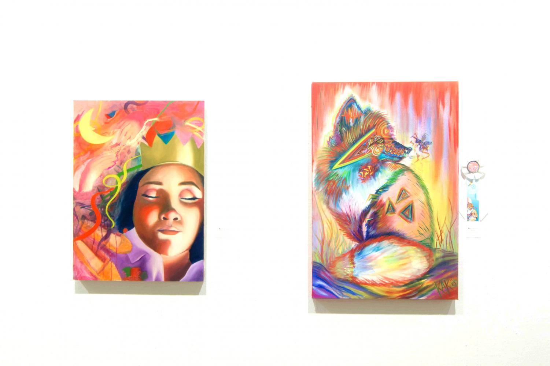 Fiction Nonfiction Poetry Visual Arts by Miriam Vega, and Heartnado by Carolina Villarreal.