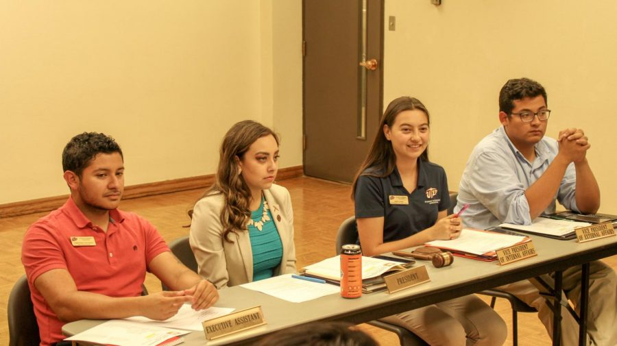 UTEP's Student Government Association discussed a variety of topics during its Thursday, Sept. 26 meeting