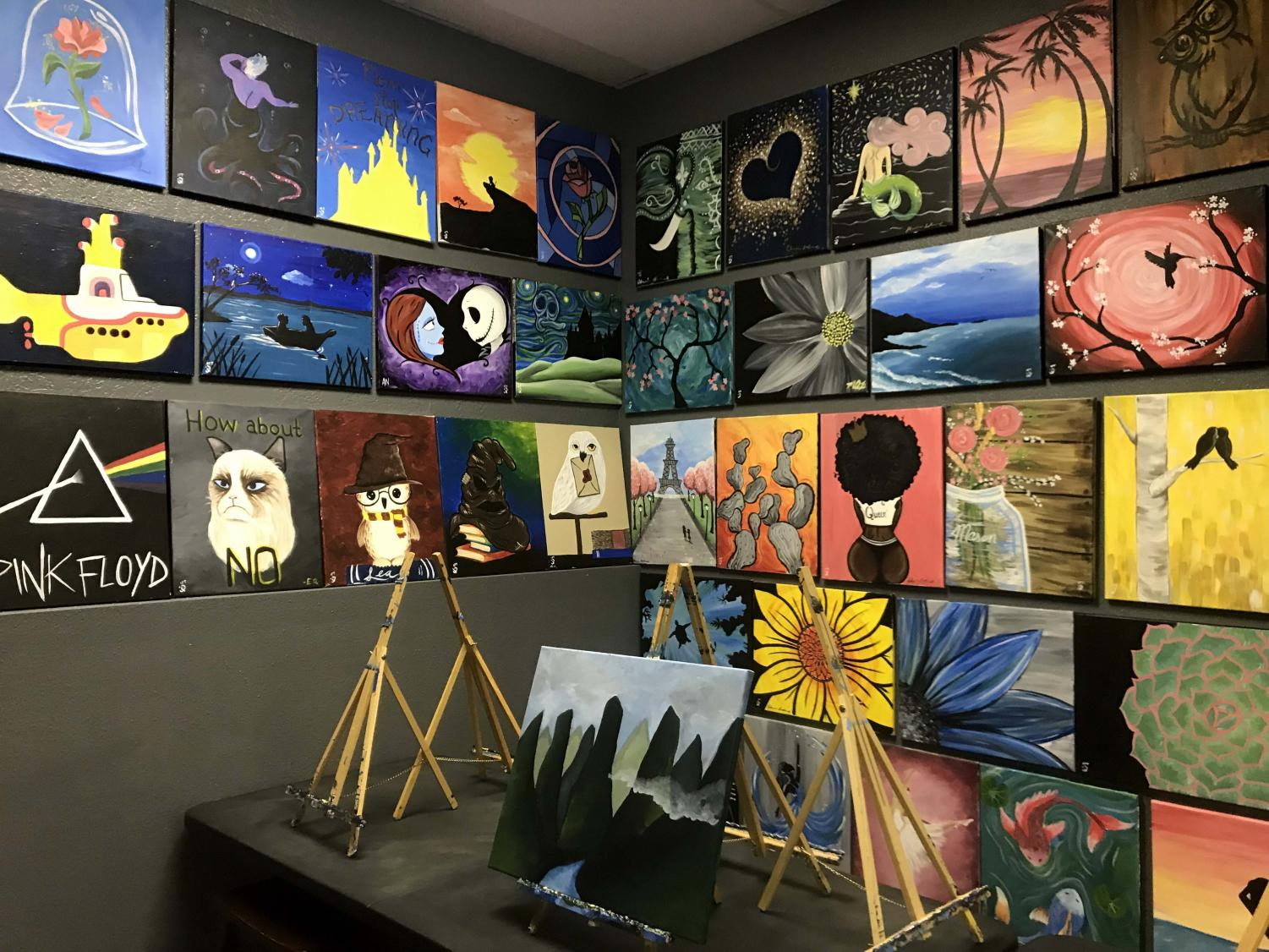 I+Painted+That%21+celebrates+%E2%80%98Tom+Lea+Month%E2%80%99+with+drinks+and+paint