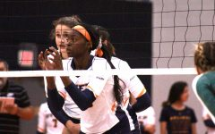 Miners' volleyball ends five-game losing streak