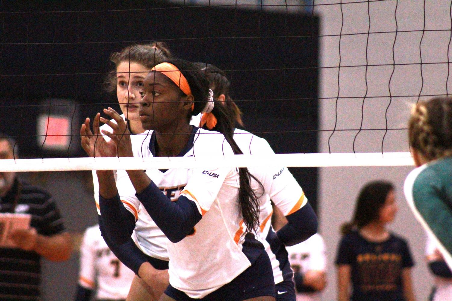 UTEP women's volleyball vs. UAB at Memorial Gym Friday Oct. 11, 2019.