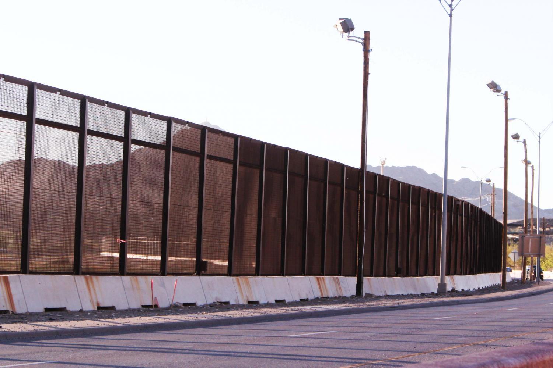 El Paso/Ciudad Juárez border fence.