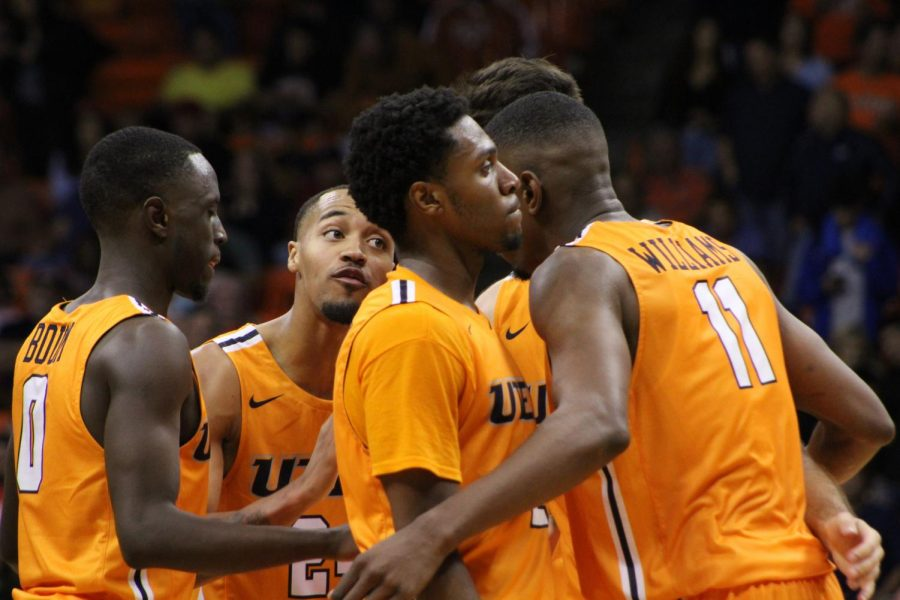 The UTEP men's basketball defeated Texas Tech 70-60 in a exhibition game Saturday Oct. 5 at the Don Haskins Center.