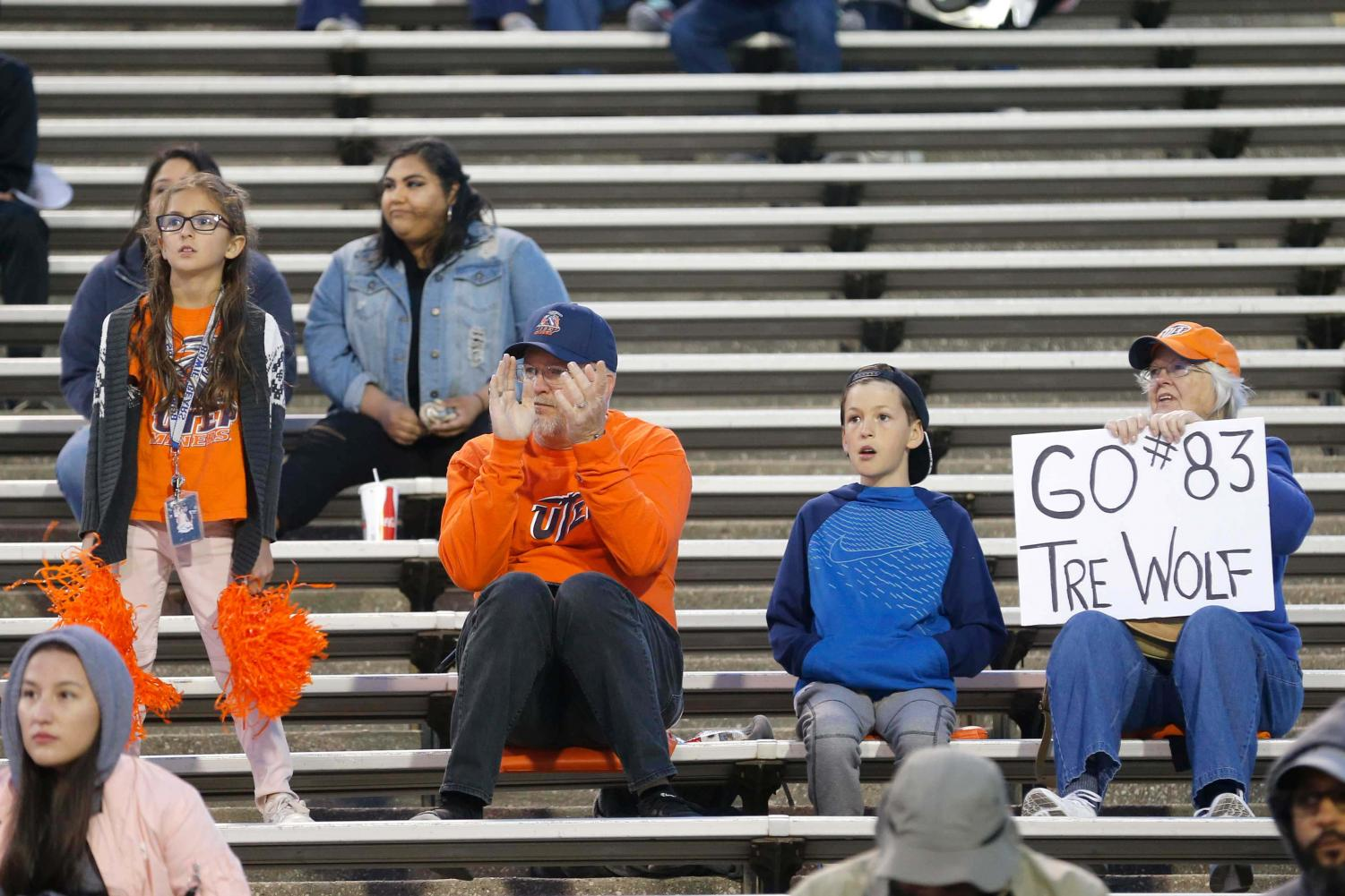 The university's football season started off with a strong supportive audience.