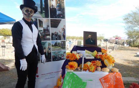 Locals observe Día de Los Muertos at historical Concordia Cemetery