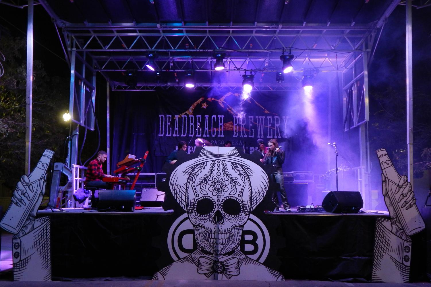 DeadBeach Brewery Birthday Block Party, El Paso, Tx.