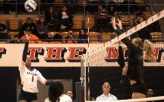 Volleyball wins third straight, breaks .500