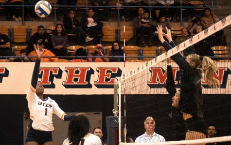 Volleyball wins third straight, breaks .500