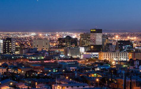 El Paso night skyline.