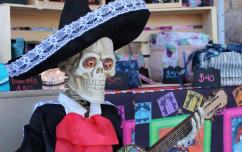 πko by Marina, a local business showcased their bags and wallets at Viva Los Muertos Day of the Dead Festival on Saturday, Nov 16, 2019.