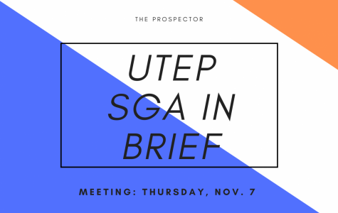 SGA in brief: Nov. 7 meeting