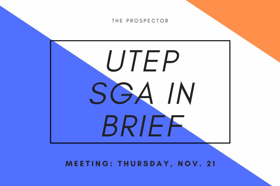 SGA in brief: Nov. 21 meeting
