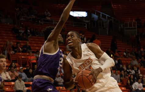Miners start basketball season with balanced win
