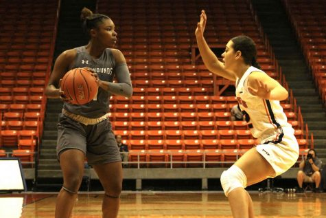 Solid all-around performance by Miners dethrones New Mexico State University