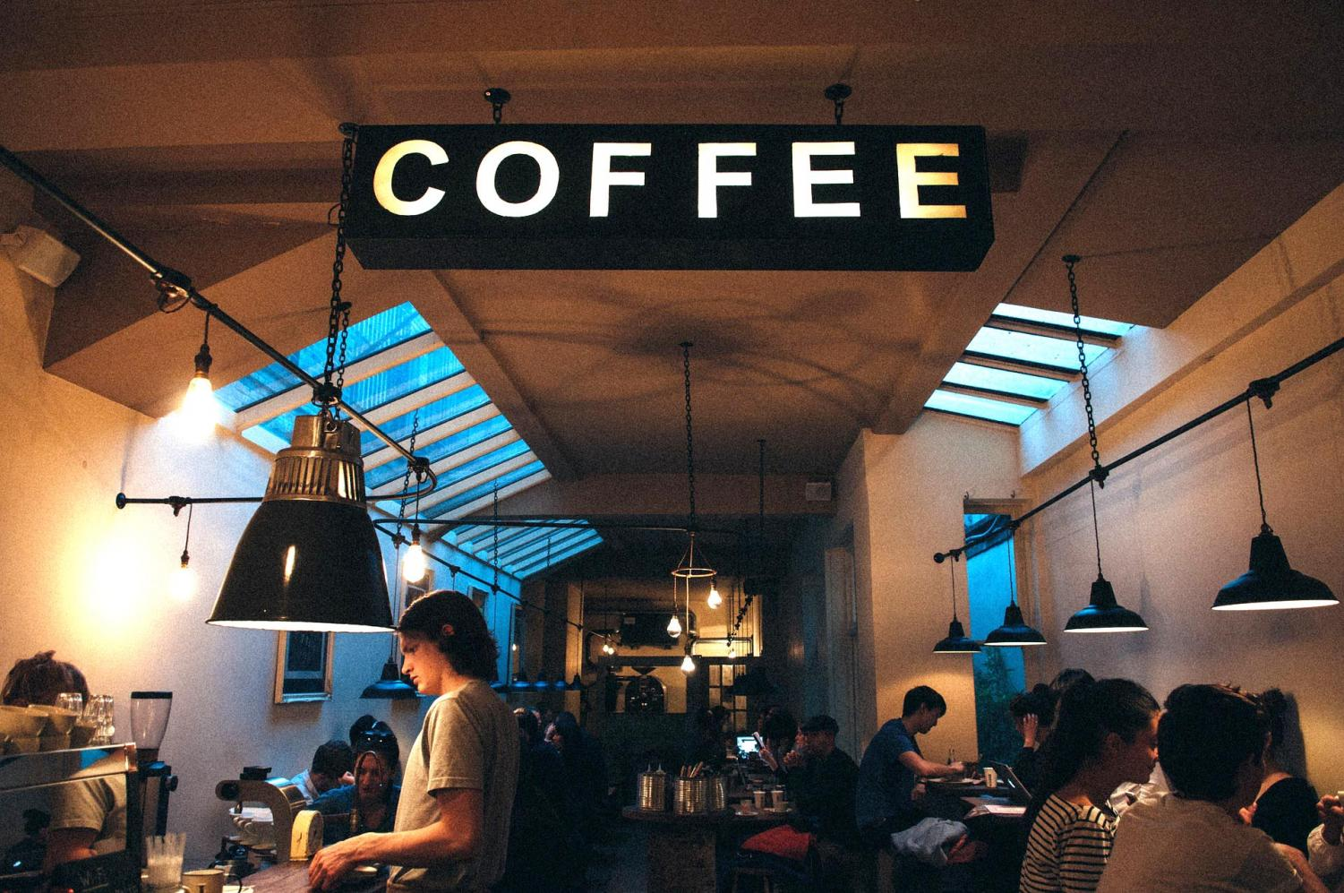 Some people like studying at coffee shops. Nowadays, there is even websites that help replicate the sound of a coffee shop at home.