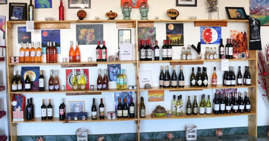 Some of the wines offered at Third Eye Wine & Spirits located at 4808 Montana Ave, El Paso, Texas.