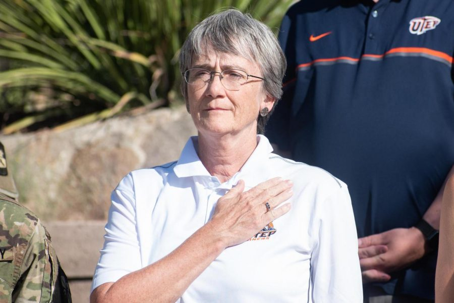 Since leaving her role as Secretary of the U.S. Air Force, Heather Wilson became the newest president of UTEP.