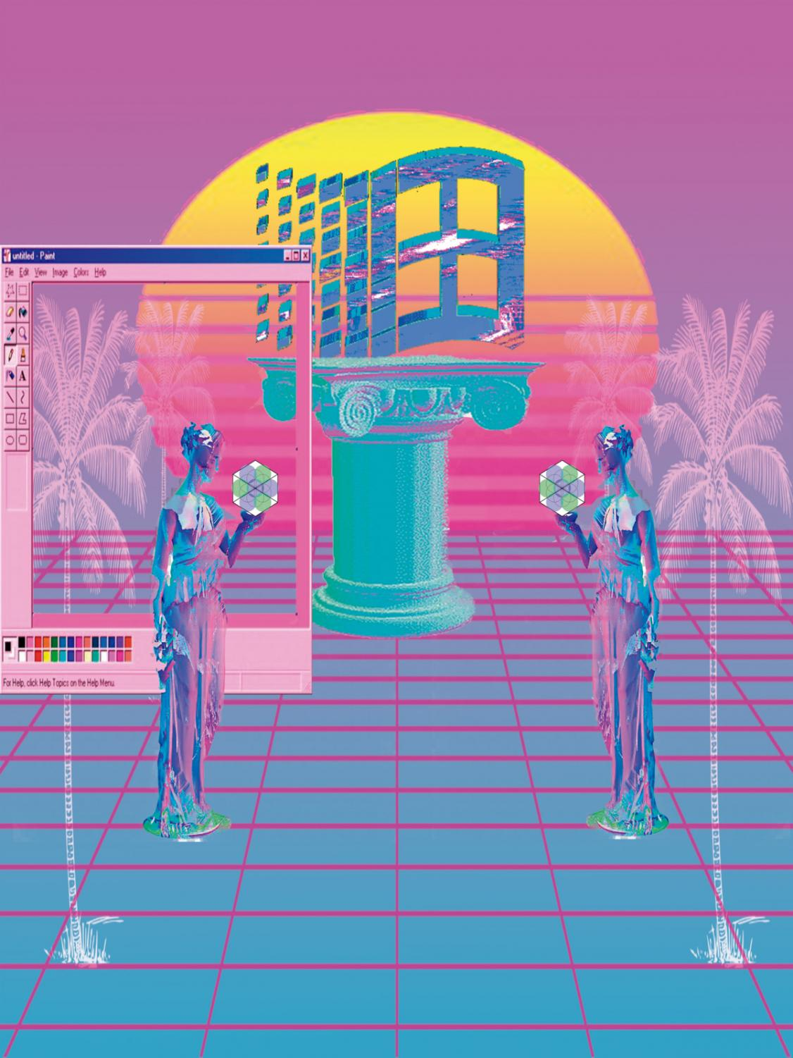Vaporwave is an Internet-based microgenre that was built upon the experimental and ironic tendencies of genres such as chillwave and hypnagogic pop.