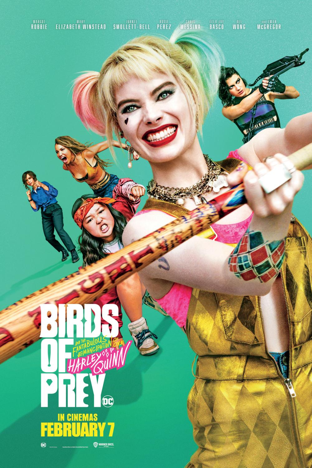 Birds of Prey (and the Fantabulous Emancipation of One Harley Quinn) is an upcoming American superhero film based on the DC Comics team Birds of Prey.