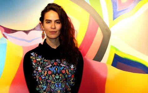"Eugenia ""Ao"" Carmona debuts solo exhibition ""Rituales"" at Grand opening."