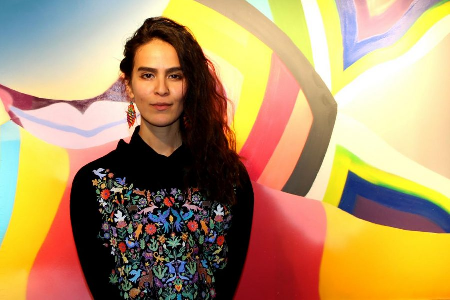 "Eugenia ""Ao"" Carmona debuts solo exhibition ""Rituales"" at Grand opening."