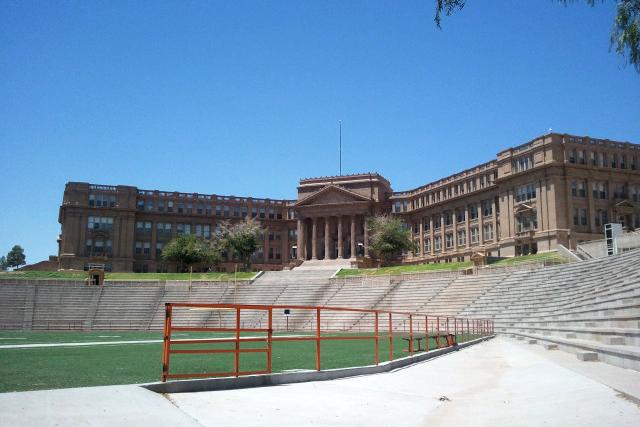 El Paso High School was placed on lockdown Thursday, Jan. 30, following reports of gunmen near the school area.
