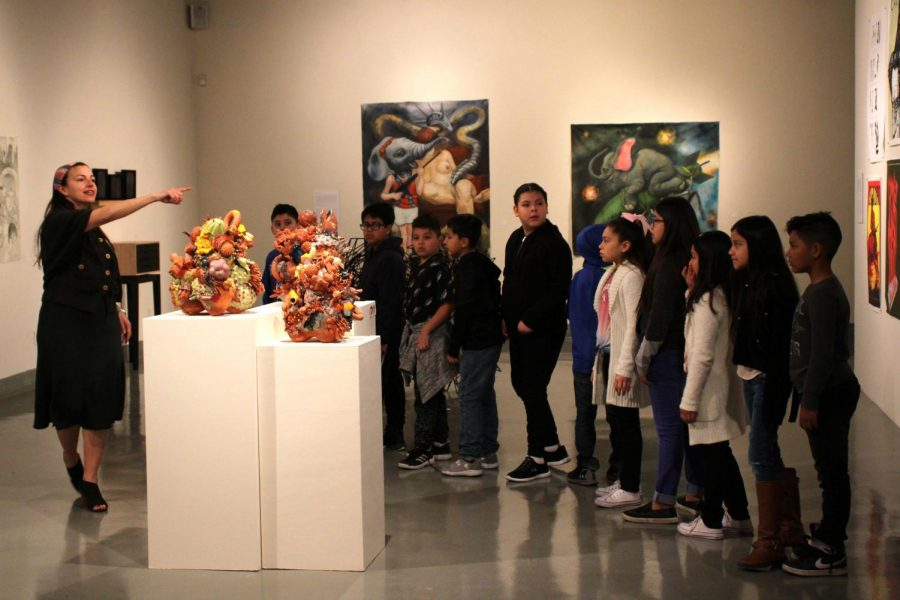 The exhibition will be on display at the Rubin Center until Friday, April 17.
