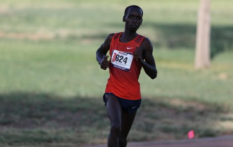 Cheruiyot ran in his first 5000m race and posted the third best time in Conference USA (C-USA) this season.