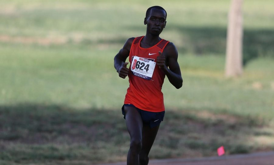 Cheruiyot+ran+in+his+first+5000m+race+and+posted+the+third+best+time+in+Conference+USA+%28C-USA%29+this+season.+