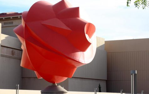 Acclaimed Mexican sculptor Sebastián created a piece designed especially for UTEP titled