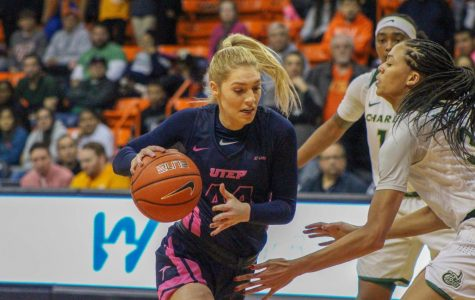 UTEP senior guard Katarina Zec scored her 1,000 point as a Miner Thursday night against Charlotte.