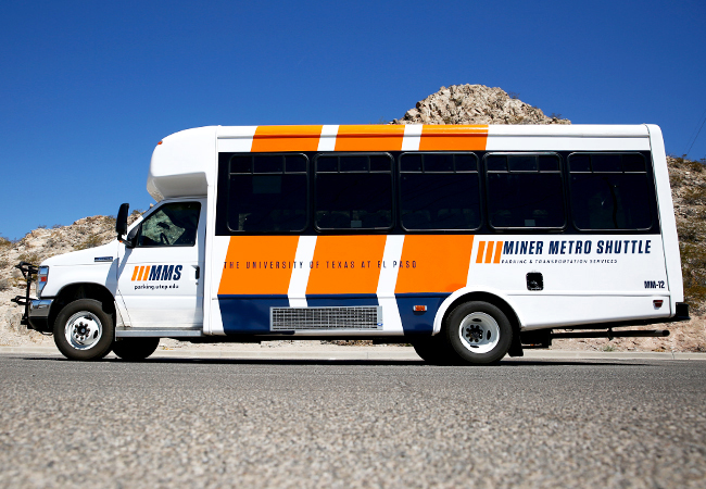 UTEP's Parking and Transportation Services.
