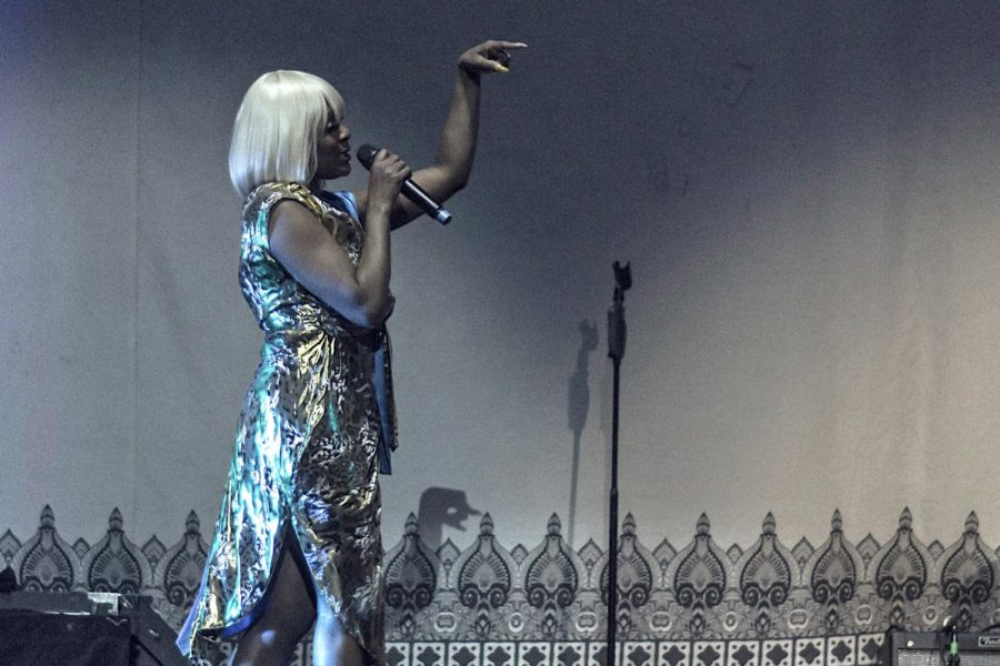 Cher performs at UTEP's Don Haskins Center Friday, March 6. Cher has become the first female artist in history with the age of over 70 to gross more than $100 million in one concert tour.
