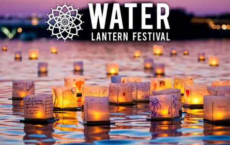 The lanterns are made from rice paper and wood so they are as eco-friendly as possible and the staff reuses and recycles the LED candles.