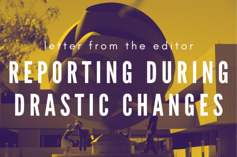 Letter from the editor: Reporting during drastic changes