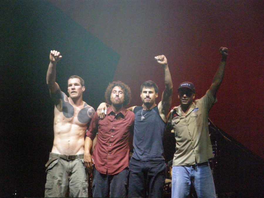 Rage Against the Machine cancels the first leg of its tour due the rise of COVID-19 cases nationwide, encompassing all shows from March 26 to May 19